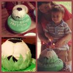 Preston's Soccer Birthday Cake