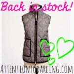 The JCrew Herringbone Vest is Back!