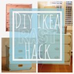 DIY Ikea Hack: Chic RAST Bedside Tables