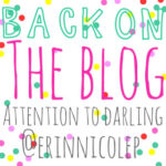 The New Normal + Back to Blogging!