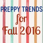 Preppy Trends for Fall