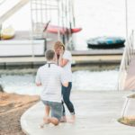 Clemson Lake Engagement + Surprise Party