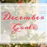 Goal Setting: December 2016