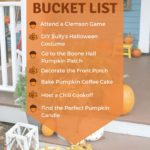 Fall 2017 Bucket List