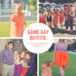 Clemson Game Day Outfits for the Family!