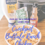 Our Go-To Crockpot Buffalo Chicken